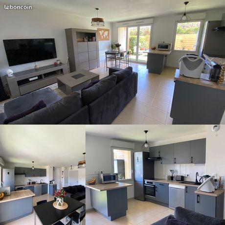 Appartement T2 / 45m2 / Jardin / refait à neuf (2020)