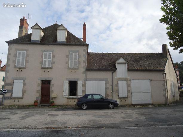 Maison A Vendre Chambon Sur Voueize 23170