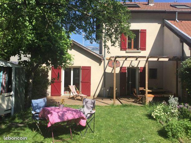Maison 90m2 avec grand jardin