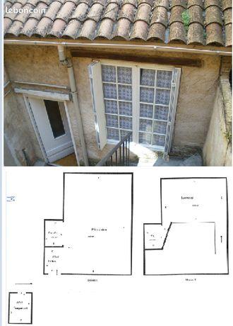 Studio meublé duplex 16m² Bagnols Marcoule + garage sécurisé