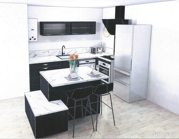 Appartement neuf T3 – 60m² + Balcon + parkings