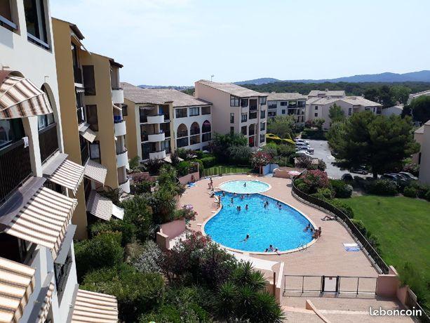 Duplex T3 résidence privée avec piscine et vue mer