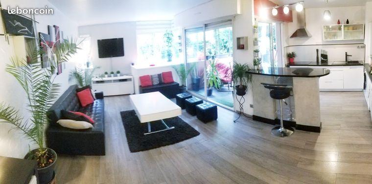 """Appartement """"bien être"""" 62m² + terrasse 38m²"""