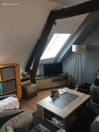 A louer grand appartement de charme surface de 73 m2