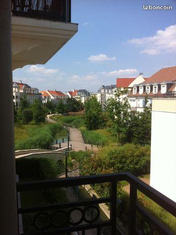 Le Plessis Robinson, cité jardin appart 3 pièces 62,05 m2 lumineux avec balcon parking et cave