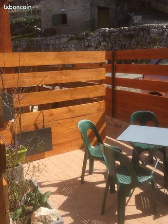 Seranon appart 49 terrasse parking jardin
