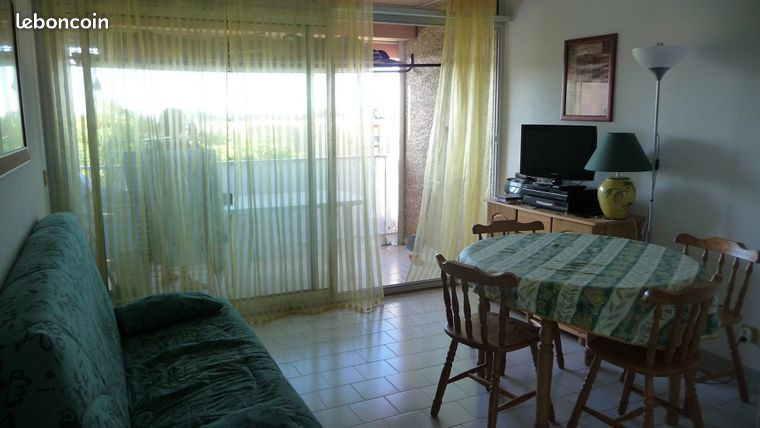 Appartement T3 Cabine 33m² à Saint-Pierre la Mer