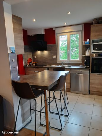 Appartement. T3 70m², terrasse, cave, garage