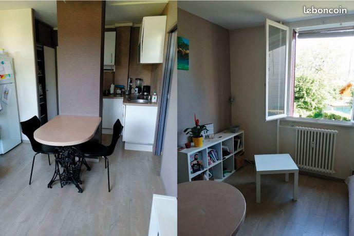 Appartement 2 pièces de 28m2, lumineux et sans vis-à-vis