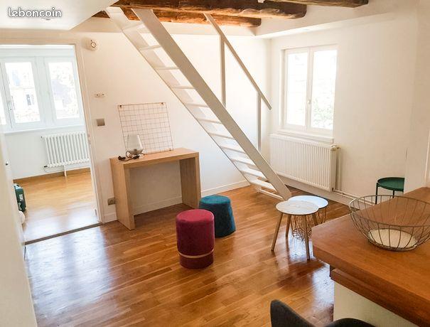Charmant T2 meublé en duplex à La Sencie