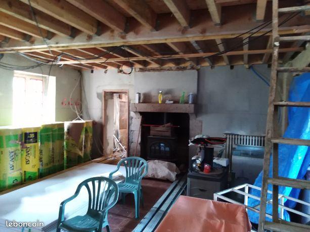 Maison ancienne à finir de rénover