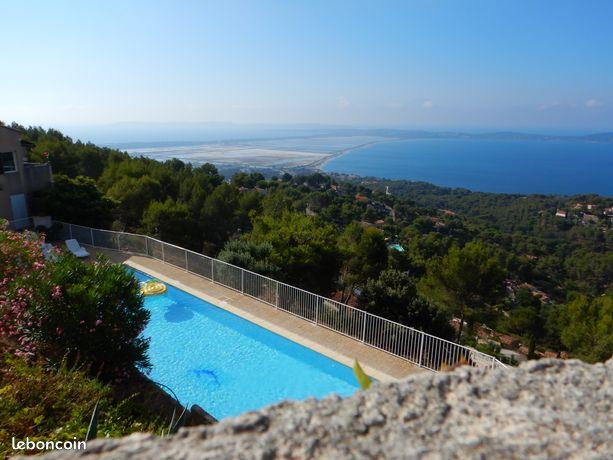 Studio vue mer, piscine , parking privée