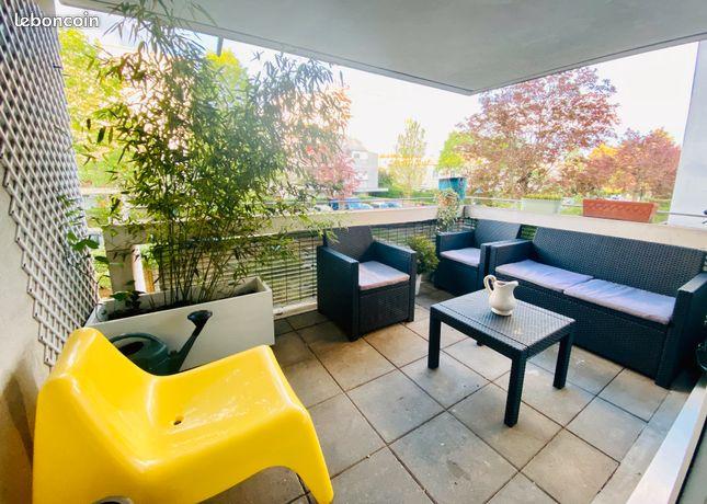Appartement 3 pièces 66m2 avec terrasse
