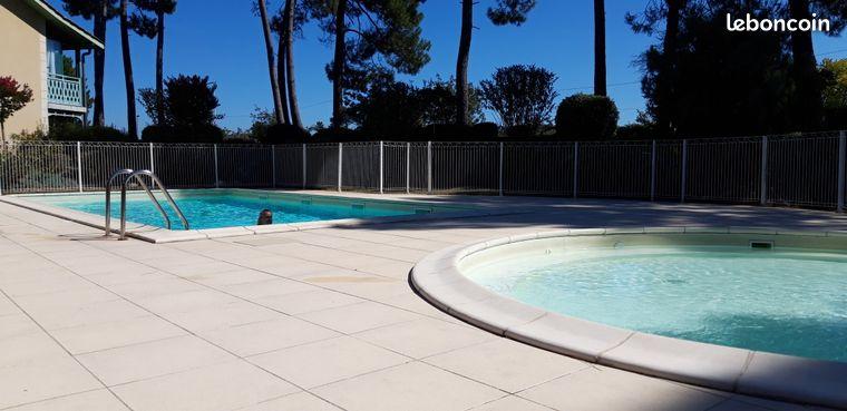 T3 avec piscine sécurisée