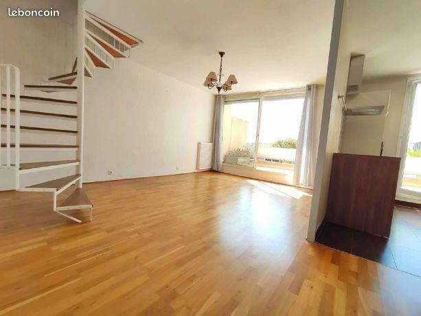 Duplex de 58 m² avec terrasse de 13 m²