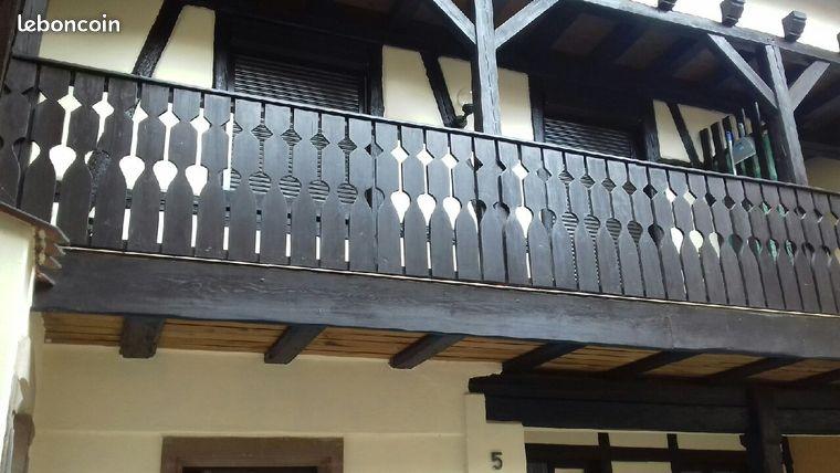 Appartement F2 balcon
