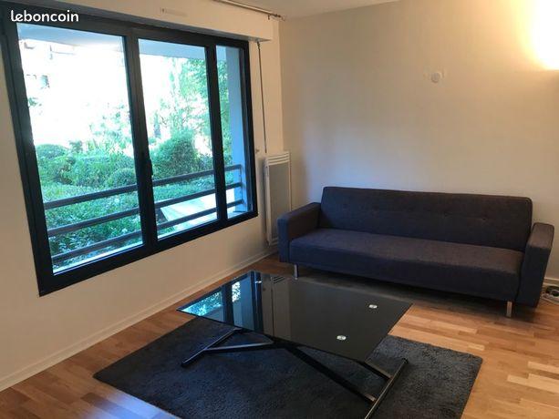 Très beau T1 entièrement refait à neuf - 23 m2 - cave et parking - calme côté jardin