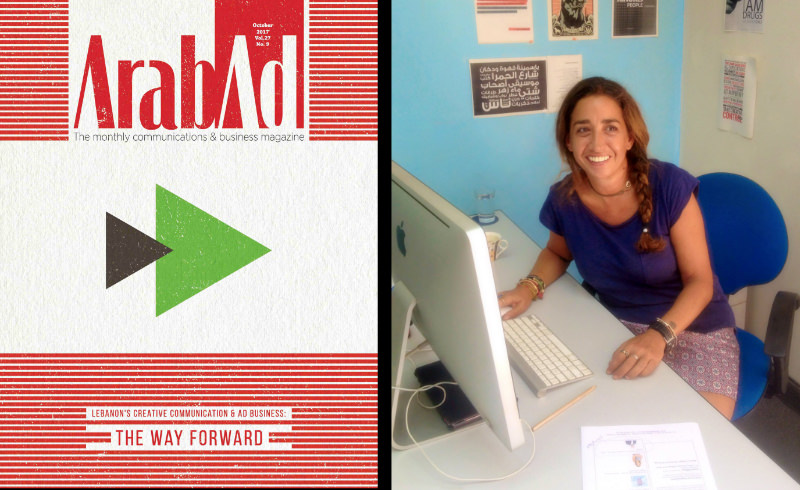 ARABAD: HELP THIS MAGAZINE REBUILD BEIRUT'S AD INDUSTRY#3