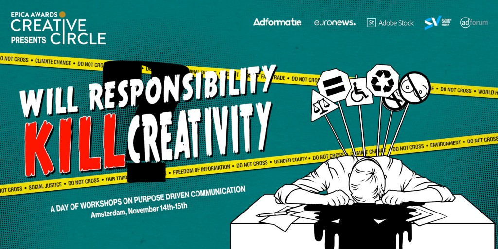 "THE SCENE IS SET FOR ONE OF THE DEBATES OF THE YEAR: ""WILL RESPONSIBILITY KILL CREATiVITY?""#1"