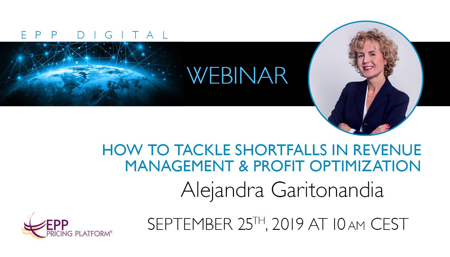 How to tackle shortfalls in Revenue Management & Profit Optimization