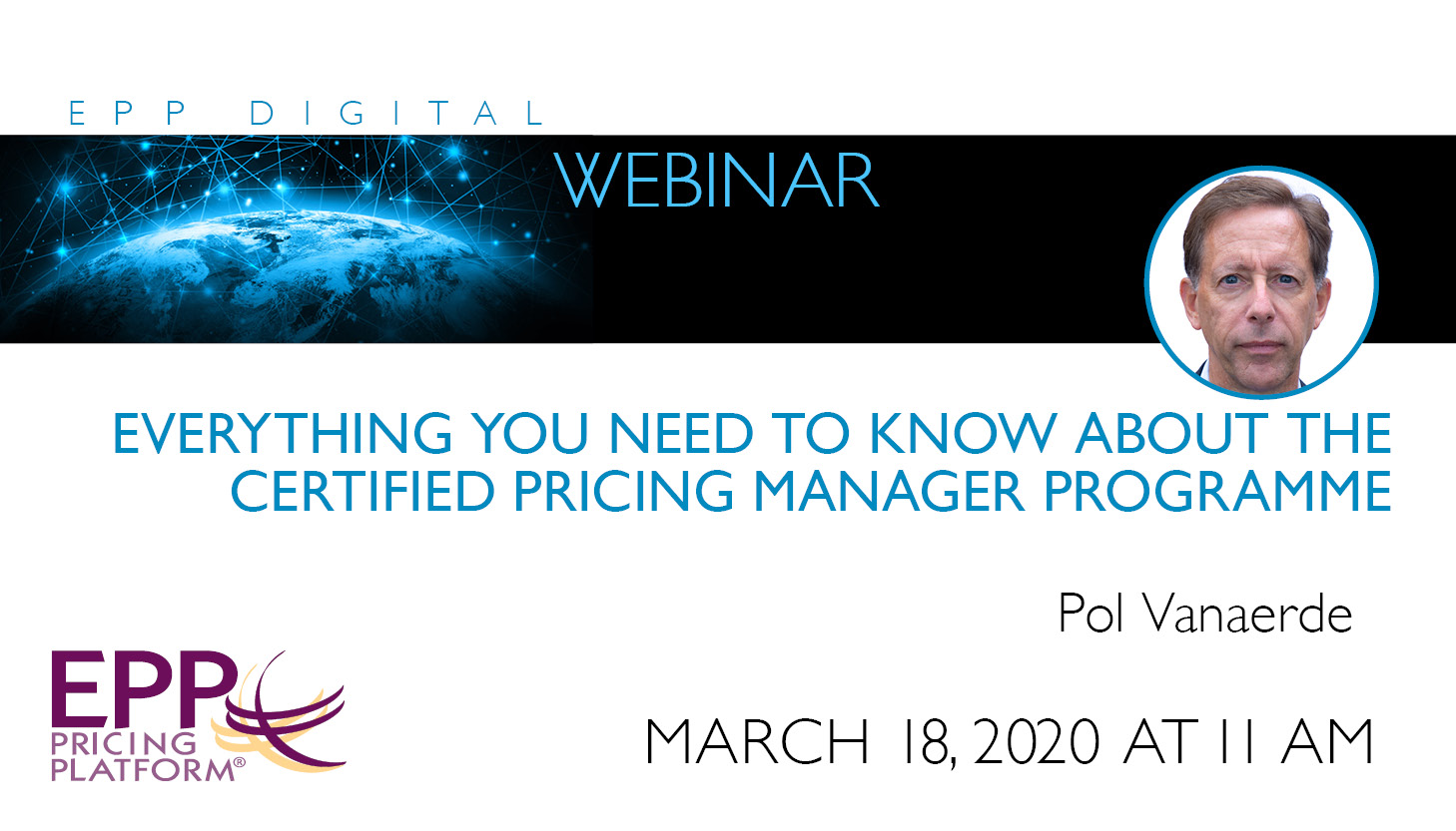 Everything you need to know about the Certified Pricing Manager Programme