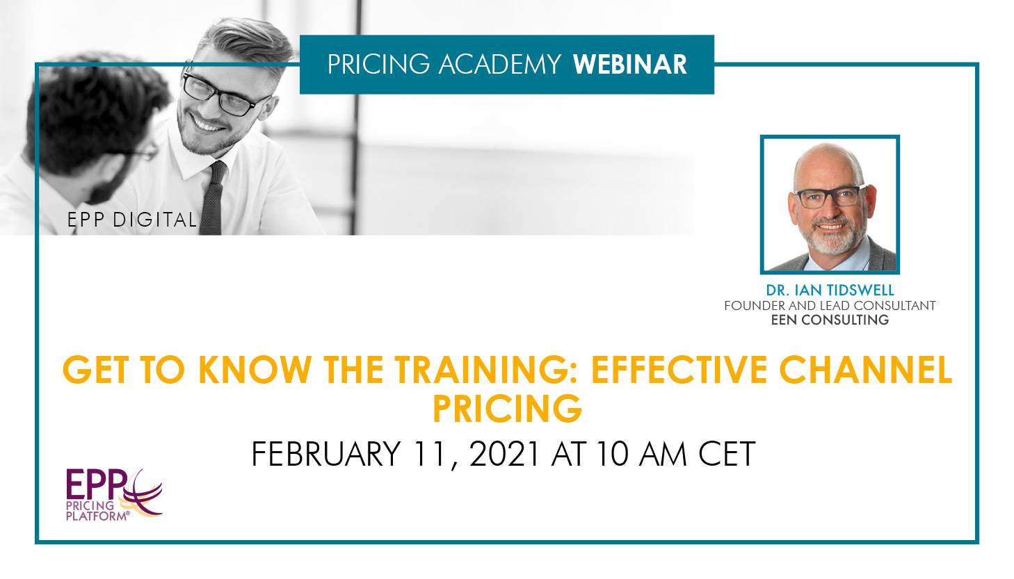 Get to know the training: Effective Channel Pricing