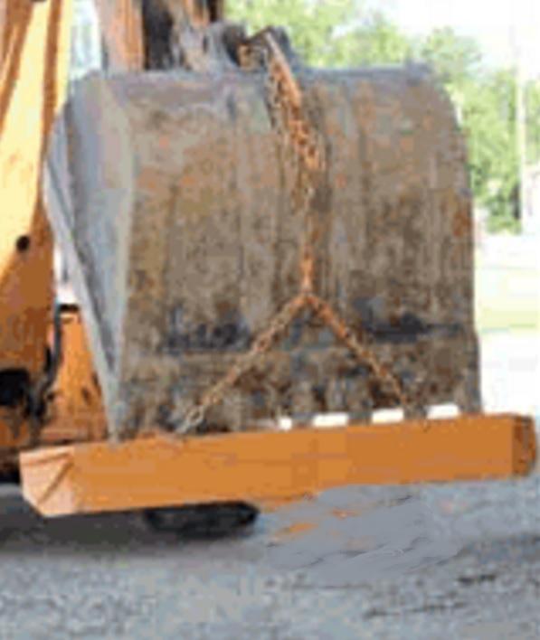 Gradeblade Squeegee Blades For Excavators Over 8 Ton