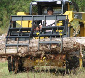 7' Rake Type Debris Grapple for Skid Steer  VASS 393517