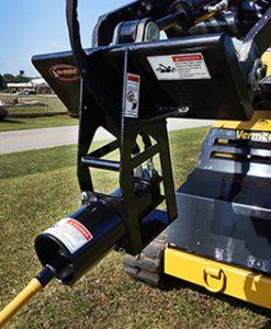 Mole Boring Attachment for Mini Skid Steer w Quick Attach M4500MS