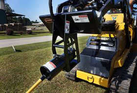 Mole Boring Attachment for Mini Skid Steer w Quick Attach M4500MS