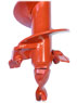 General Earth Augers 7.5 dia., 3' Depth, 2 inch Hex -4710-6E3