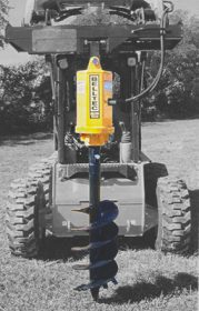 Belltec M200 Hole Digging Hydraulic Auger Drive 10-20 gpm