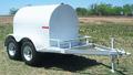 500 Gallon Towable Fuel Tank Trailer  HULLD008