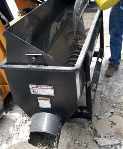 Asphalt Discharge Auger Bucket for Asphalt DAN-11005