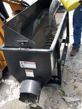 Asphalt Discharge Auger Bucket for Asphalt DAN-11005