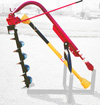 3-Point Heavy Duty Pendulum Digger for Tractors AGM BR75