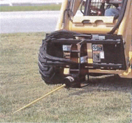 Mighty Mole Boring Attachment For Skid Steer M4500ss