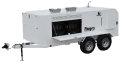 780K BTU Indirect-Fired Self-Contained Heater Trailer FVO-1000TR