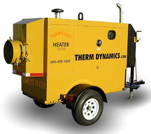 Td600 200k Flameless Sparkless Diesel Heater 600k Btu