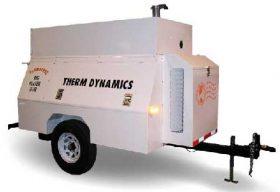 Flameless Sparkless Diesel Heater 750K BTU Towable TD750