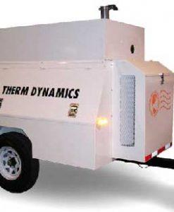 Flameless Sparkless Diesel Heater 1 Million BTU Towable TD1200