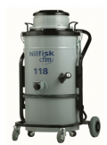 Nilfisk Single-Phase CFM Industrial Vacuum NIL CFM118