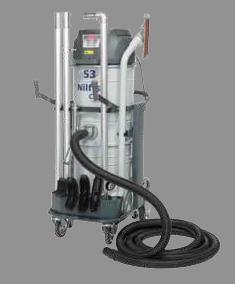 Nilfisk CFM Single-Phase Vacuum w Wet option 13 Gal NILCFMS3