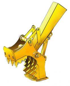 Concrete Crusher for Excavators 50,000 to 65,000 lbs.- SLS-SECC-3