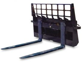 "4,000 lbs. Capacity Heavy Duty Pallet Fork for Skid Steers 48"" -SLS-SPF48"