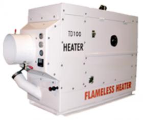 Flameless Sparkless Diesel Heater 125K BTU TD100