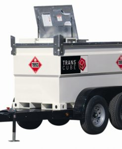 TransCube 1240 Gal. Double Wall Fuel Tank w Trailer and Cabinet