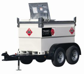 TransCube 132 Gal. Double Wall Fuel Tank and Trailer TC05TCG