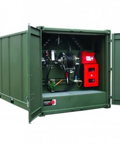 TransCube DOT Approved 4500 Gal. 20 FT Portable Fuel Container 200CAB