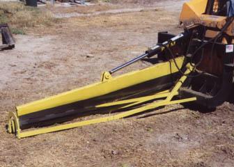 Bale Slicer With Skid Steer Mount Pfm 600 30 Equipmentland